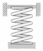 Length : 1x12x305mm Erweiterte Druckfeder Au/ßen-/Ø 12-18mm Federstahl Druckfeder-Y-Typ Druckfeder Draht Dia 1mm L/änge 305mm 1PCS